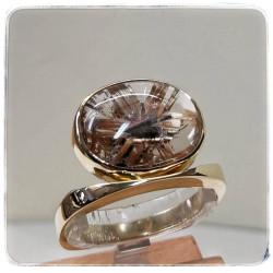 Gelbgold-Ring mit...