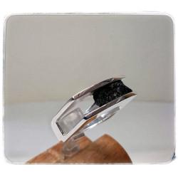 Silberner Ring mit...
