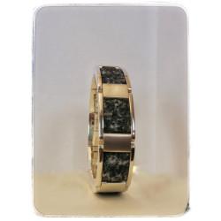 Silbernes Armband mit...