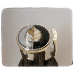 Silber-Ring mit...